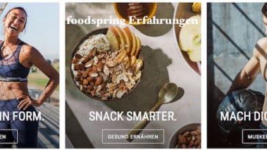 Photo of Foodspring Test und Erfahrungen