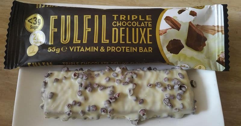 Fulfil Vitamin Protein Bar Test