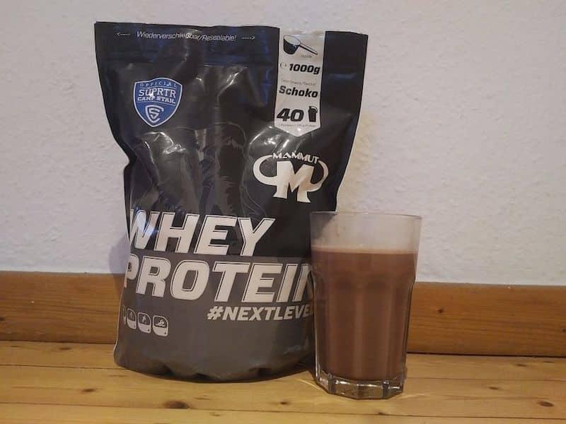 Mammut Whey Protein Geschmack