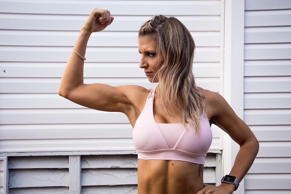 Muskel Frau