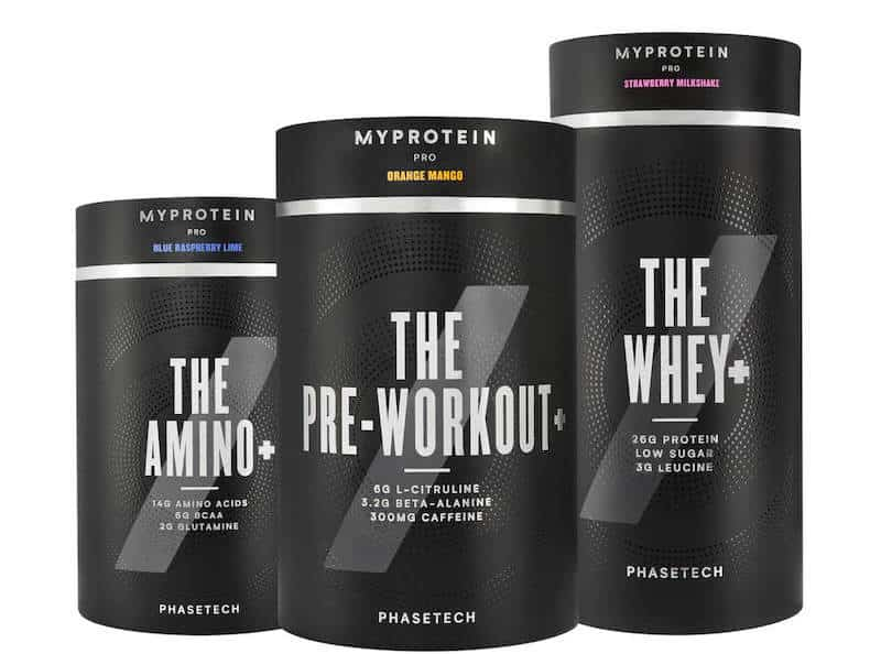 Myprotein Supplemente