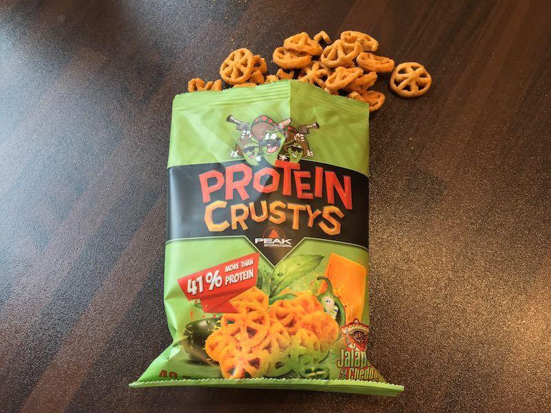 Peak Protein Crustys Test