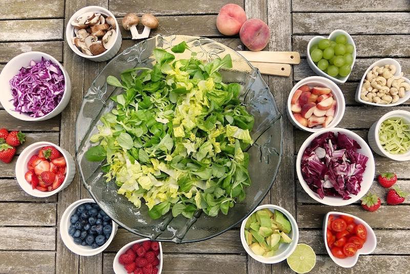 Liste der Lebensmittel aus dem Menü Diät mit beschleunigtem Stoffwechsel