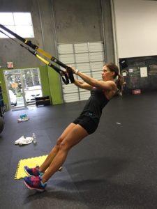TRX Training als Frau