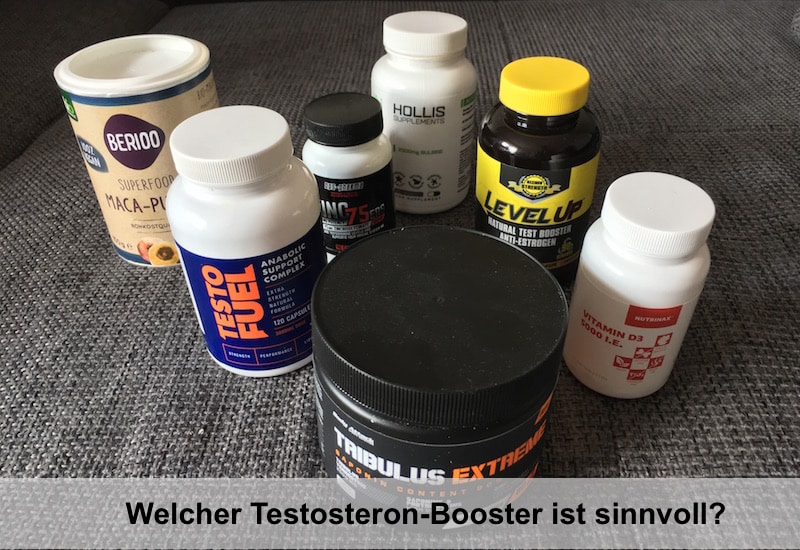 Welcher Testosteron Booster ist sinnvoll?