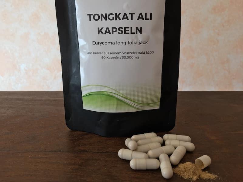 Tongkat Ali Kapseln Test
