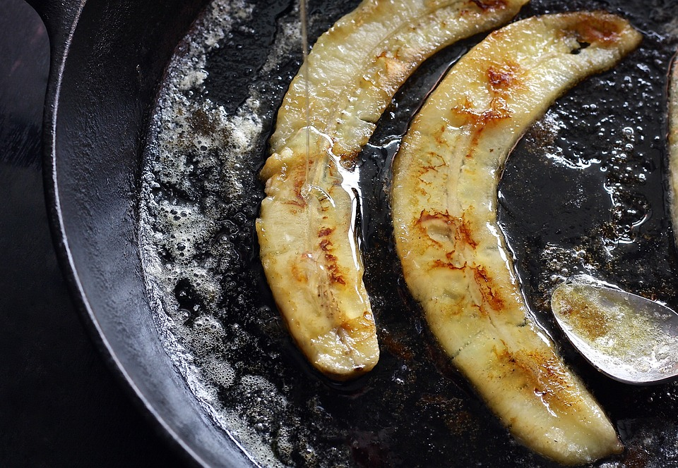 gebratene-banane-quark
