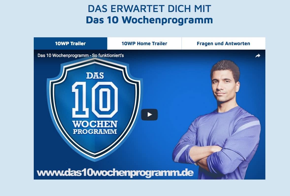 Das 10 Wochenprogramm von Julian Zietlow